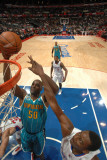 New Orleans Hornets v Los Angeles Clippers: Emeka Okafor and Al-Farouq Aminu