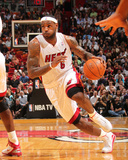 Phoenix Suns v Miami Heat: LeBron James