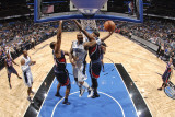 Atlanta Hawks v Orlando Magic: Quentin Richardson, Jason Collins and Josh Smith