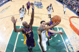 Los Angeles Lakers v Utah Jazz: Deron Williams and Lamar Odom