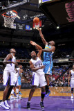 New Orleans Hornets v Sacramento Kings: Emeka Okafor and Carl Landry