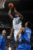 Dallas Mavericks v New Orleans Hornets: Emeka Okafor and Tyson Chandler