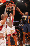Indiana Pacers v Miami Heat: Zydrunas Ilgauskas and Brandon Rush
