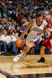New Jersey Nets v Sacramento Kings: Beno Udrih and Jordan Farmar
