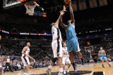 New Orleans Hornets v San Antonio Spurs: Emeka Okafor and Tim Duncan