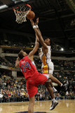 Los Angeles Clippers v Indiana Pacers: Brandon Rush and Brian Cook