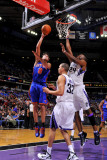 New York Knicks v Sacramento Kings: Danilo Gallinari and Carl Landry