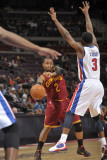 Cleveland Cavaliers v Detroit Pistons: Mo Williams and Rodney Stuckey