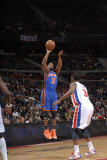 New York Knicks v Detroit Pistons: Raymond Felton and Rodney Stuckey