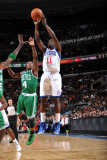 Boston Celtics v Philadelphia 76ers: Jrue Holiday and Nate Robinson