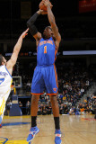 New York Knicks v Golden State Warriors: Amare Stoudamire and Vladimir Radmanovic