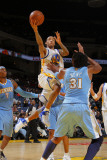 Denver Nuggets v Golden State Warriors: Monta Ellis and Nene