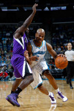 Sacramento Kings v New Orleans Hornets: Jarrett Jack and Eugene Jeter