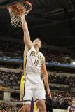 Los Angeles Lakers v Indiana Pacers: Jeff Foster