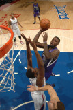 Sacramento Kings v Los Angeles Clippers: Donte Greene and Al-Farouq Aminu