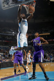 Sacramento Kings v New Orleans Hornets: Emeka Okafor and Jason Thompson