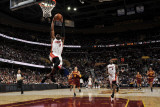 Miami Heat v Cleveland Cavaliers: Dwyane Wade, LeBron James and Anthony Parker