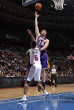 Los Angeles Lakers v Detroit Pistons: Pau Gasol and Ben Wallace