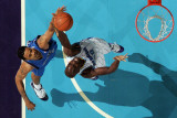 Dallas Mavericks v New Orleans Hornets: Tyson Chandler and Emeka Okafor