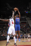 New York Knicks v Detroit Pistons: Amar'e Stoudemire and Ben Wallace
