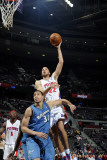Washington Wizards v Detroit Pistons: Tayshaun Prince and JaVale McGee