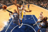 Charlotte Bobcats v Indiana Pacers: D. J. Augustine and Solomon Jones
