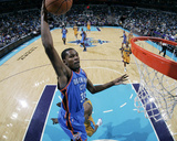 Oklahoma City Thunder v New Orleans Hornets: Kevin Durant Photographic Print