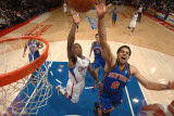New York Knicks v Los Angeles Clippers: Landry Fields and Eric Bledsoe