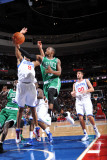 Boston Celtics v Philadelphia 76ers: Rajon Rondo and Andre Iguodala