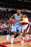 Denver Nuggets v Portland Trail Blazers: Wesley Matthews and Carmelo Anthony