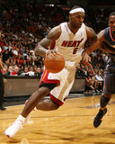 Charlotte Bobcats v Miami Heat: LeBron James