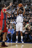 New Jersey Nets v Dallas Mavericks: Caron Butler and Brook Lopez