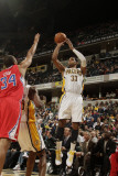 Los Angeles Clippers v Indiana Pacers: Danny Granger and Brian Cook