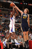 Utah Jazz v Los Angeles Clippers: Al-Farouq Aminu and Andrei Kirilenko