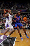 New York Knicks v Sacramento Kings: Amare Stoudemire and Darnell Jackson