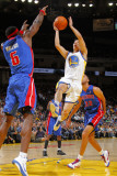Detroit Pistons v Golden State Warriors: Ben Wallace and Jeremy Lin