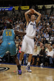 New Orleans Hornets v Dallas Mavericks: Dirk Nowitzki and \Emeka Okafor