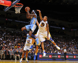 Denver Nuggets v Golden State Warriors: Ty Lawson and Monta Ellis