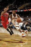 Chicago Bulls v Cleveland Cavaliers: Mo Williams and Derrick Rose