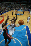 Miami Heat v Dallas Mavericks: Dirk Nowitzki and Dwyane Wade