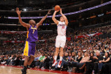 Los Angeles Lakers v Los Angeles Clippers: Blake Griffin and Lamar Odom