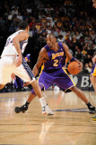 Los Angeles Lakers v New Jersey Nets: Kobe Bryant and Devin Harris