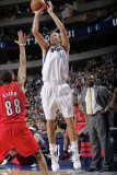 Portland Trail Blazers v Dallas Mavericks: Dirk Nowitzki and Nicolas Batum