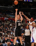 San Antonio Spurs v Los Angeles Clippers: Matt Bonner and Craig Smith