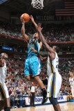 New Orleans Hornets v Utah Jazz: Willie Green and Paul Millsap