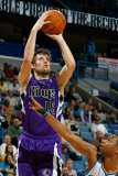 Sacramento Kings v New Orleans Hornets: Beno Udrih and Willie Green