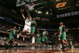 Boston Celtics v Cleveland Cavaliers: Mo Williams and Glen Davis