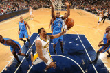 Oklahoma City Thunder v Indiana Pacers: Brandon Rush and Serege Ibaka