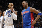 Detroit Pistons v Orlando Magic: Vince Carter and Tracy McGrady