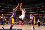 Los Angeles Lakers v Los Angeles Clippers: Eric Gordon and Lamar Odom